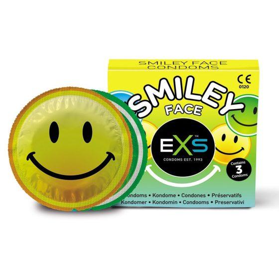 EXS Smiley óvszer (3 db)