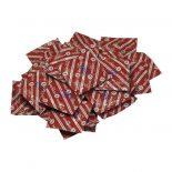 Durex London 100 db piros óvszer, eper aromával