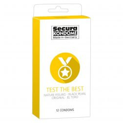 Secura Test the Best 12 db-os óvszer válogatás