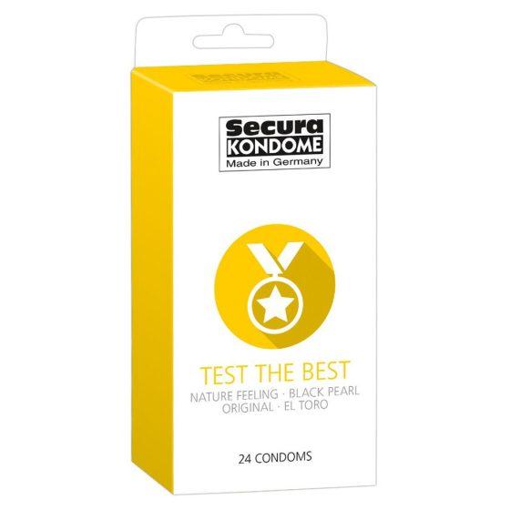 Secura Test the Best 24 db-os óvszer válogatás