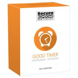 Secura Good Timer késleltető hatású óvszer (100 db)
