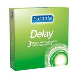 Pasante Infinity (Delay) késleltetős óvszer (3 db)
