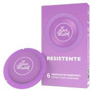 Love Match Resistente megerősített falvastagságú óvszer (6 db)