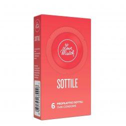 Love Match Sottile extra vékony óvszer (6 db)