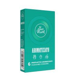 Love Match Aromatizzato ízesített óvszerek (6 db)