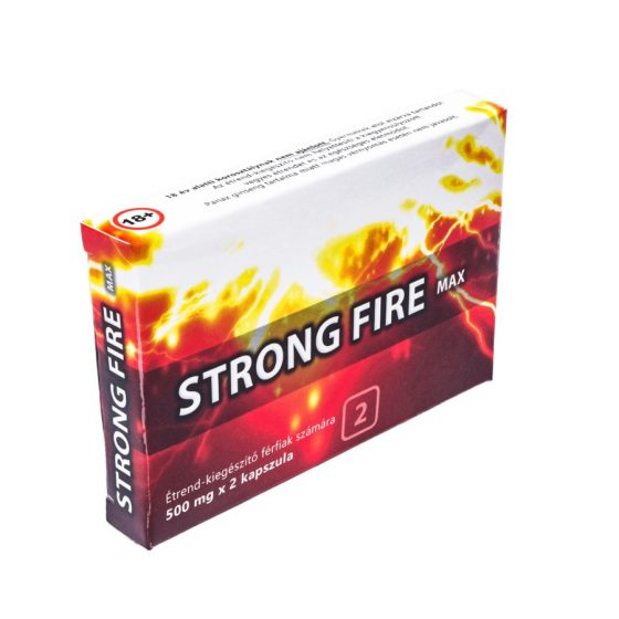 Strong Fire Max kapszula (2 db)