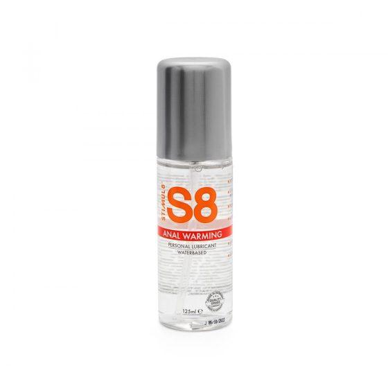 S8 vízbázisú síkosító, melegítő hatással (125 ml)