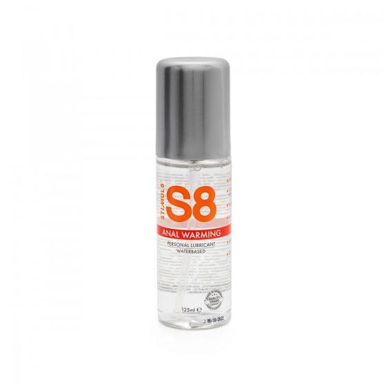 S8 vízbázisú síkosító, anál használatra, melegítő hatással (125 ml)