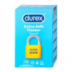 Durex Extra Safe 18 db vastagított falú óvszer