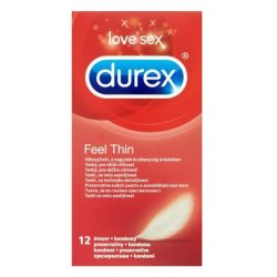 Durex Feel Thin óvszer (12 db)