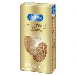 Durex Real Feel 10 db latex mentes óvszer