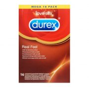 Durex Real Feel latex mentes óvszer (16 db)