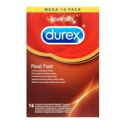 Durex Real Feel 16 db latex mentes óvszer