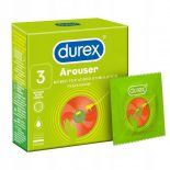 Durex Arouser redőzött felületű óvszer (3 db)