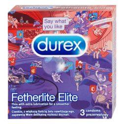Durex Fetherlite Elite 3 db extra vékony óvszer