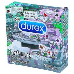 Durex Performa késleltetős óvszer (3 db)