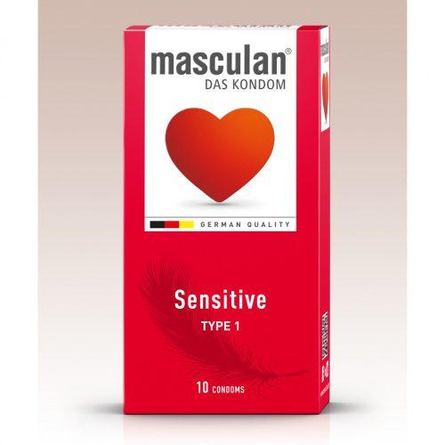Masculan Sensitive, extra vékony óvszer (10 db)
