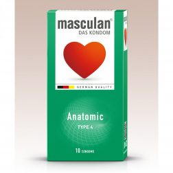 Masculan Anatomic formázott óvszer (10 db)