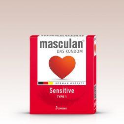 Masculan Sensitive, extra vékony óvszer (3 db)