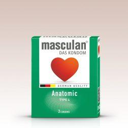 Masculan Anatomic formázott óvszer (3 db)
