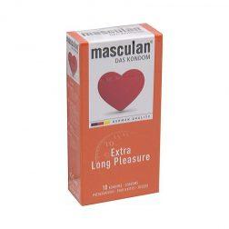 Masculan Extra Long Pleasure késleltetős óvszer (10 db)