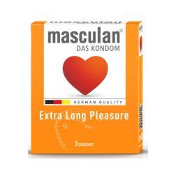 Masculan Long Pleasure késleltetős óvszer (3 db)
