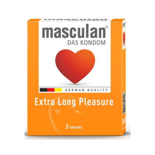 Masculan Long Pleasure késleltetős óvszer (3 db)