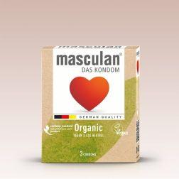 Masculan Organic vegán óvszer (3 db)