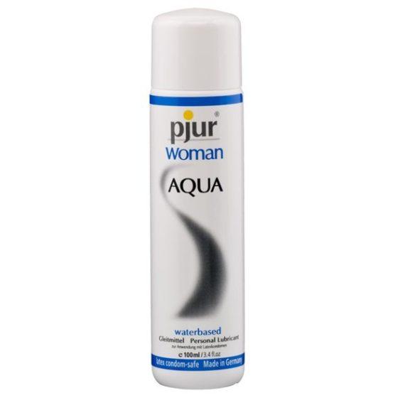 pjur Woman Aqua vízbázisú síkosító (100 ml)