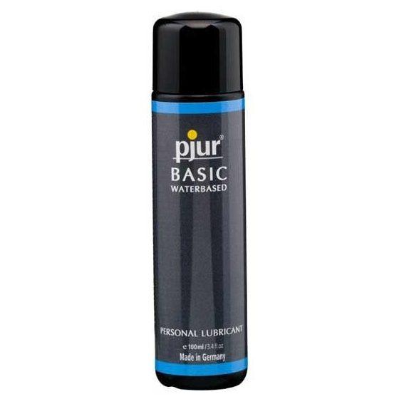 pjur Basic vízbázisú síkosító (100 ml)