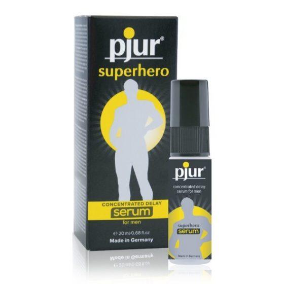 pjur Superhero szérum ejakuláció késleltető gél (20 ml)