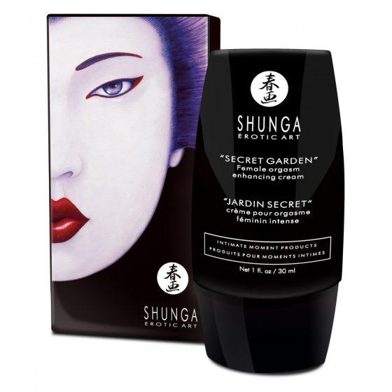 Shunga Secret Garden klitorisz krém, stimuláló hatással (30 ml)