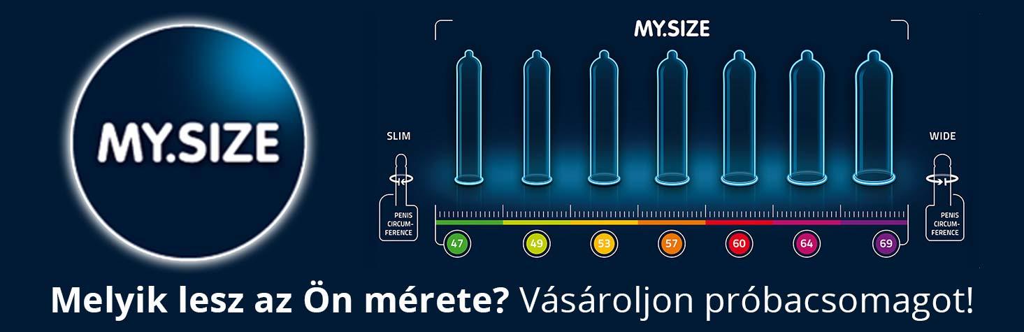 My Size Óvszerek Méretre